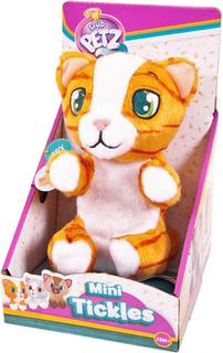 Интерактивная игрушка IMC toys Club Petz Котенок (рыжий полосатый)