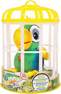 Интерактивная игрушка IMC toys Club Petz Funny Попугай Benny (зеленый)