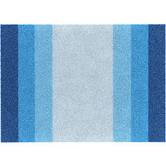 Коврик для ванной комнаты Wasserkraft Lopau голубой/синий (BM-1101)