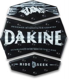 Наклейка на сноуборд Dakine