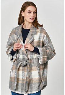 Короткое пальто Electrastyle