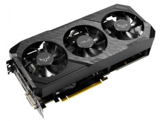 Видеокарта ASUS TUF GeForce GTX 1660 Super Gaming 1815Mhz PCI-E 3.0 6144Mb 14002Mhz 192 bit DP HDMI DVI TUF3-GTX1660S-6G-GAMING