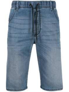 Diesel джинсовые шорты с кулиской