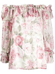 P.A.R.O.S.H. блузка с открытыми плечами