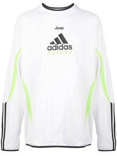 Palace футболка из коллаборации с adidas