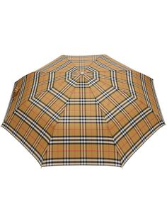 Burberry складной зонт в клетку Vintage Check