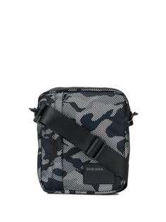 Diesel сумка через плечо Oderzo с камуфляжным принтом