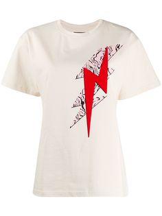 Isabel Marant футболка Yates с принтом Bolt