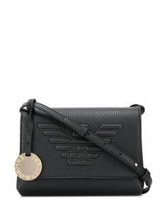 Emporio Armani сумка на плечо с тисненым логотипом