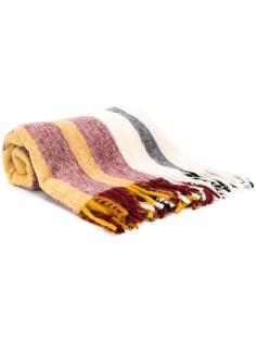 Acne Studios colour block striped blanket