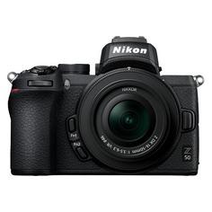 Фотоаппарат NIKON Z50 kit ( Nikkor Z DX 16-50 f/3.5-6.3 VR), черный [voa050k001]