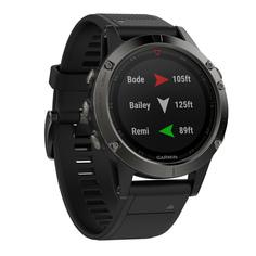 Спортивные часы Garmin Fenix 5x Sapphire Slate Gray