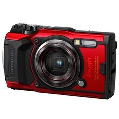 Фотоаппарат компактный Olympus Tough TG-6 Red