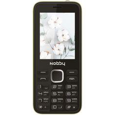 Мобильный телефон Nobby 221 Black/Yellow