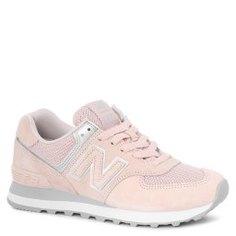 Кроссовки NEW BALANCE WL574 светло-розовый