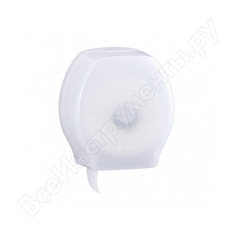 Диспенсер для туалетной бумаги в рулонах merida harmony maxi abs-пластик bhb101