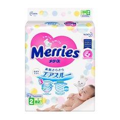 Подгузники Merries Air Through (4-8 кг) шт.