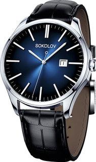 Мужские часы в коллекции Freedom Мужские часы SOKOLOV 154.30.00.000.04.01.3