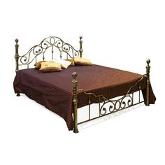 Кровать металлическая TC 130х144х215 см