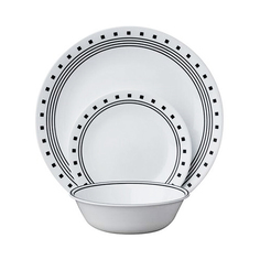 Набор посуды Corelle Livingware City Block 4 персоны 12 предметов