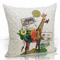 Подушка декоративная (49x49 см) Giraffe Kauffort