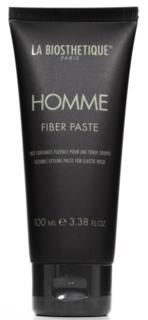 La Biosthetique, Моделирующая паста-тянучка для волос с атласным блеском Homme Fiber Paste, 100 мл