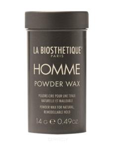 La Biosthetique, Пудра-воск для придания объема и подвижной фиксации с атласным блеском Homme Powder Wax, 14 г