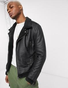 Куртка из искусственной кожи Bolongaro Trevor-Черный