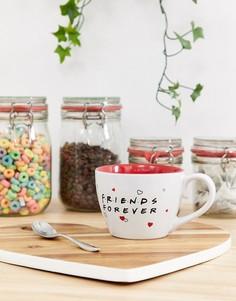 """Кофейная чашка с надписью \""""Friends forever\""""-Мульти Paladone"""