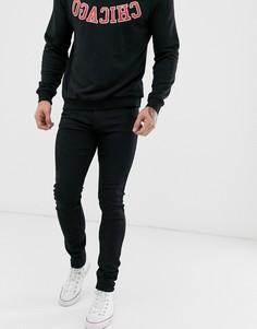 Черные джинсы скинни Lee Malone-Черный