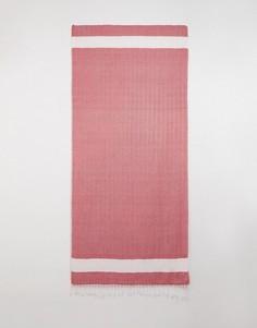 Пляжное полотенце с шевронным рисунком Vero Moda-Мульти