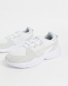 Замшевые кроссовки Puma zeta-Белый