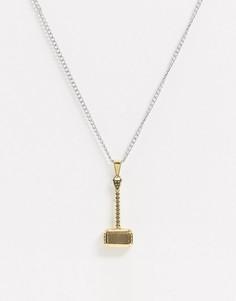 Ожерелье с подвеской Seven London-Мульти