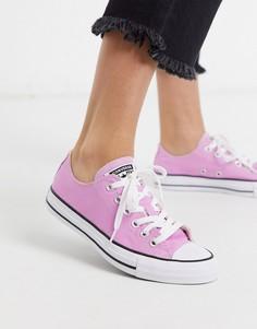 Розовые кеды Converse Chuck Taylor Ox-Розовый