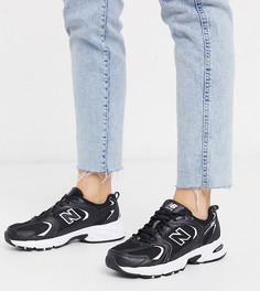 Черные кроссовки New Balance 530-Черный