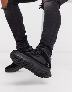 Черные низкие походные ботинки Timberland-Черный