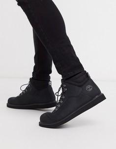 Черные низкие ботинки Timberland-Черный