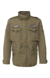 Хлопковая куртка Polo Ralph Lauren