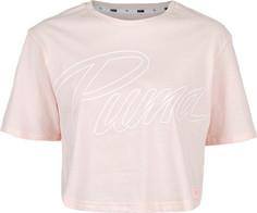 Футболка женская Puma Athletics Fashion Tee, размер 44-46