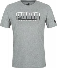 Футболка мужская Puma ATHLETICS Tee Big Logo, размер 50-52