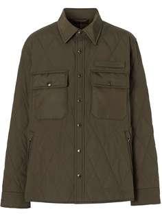 Burberry стеганая куртка с терморегуляцией