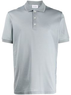 Salvatore Ferragamo однотонная рубашка-поло