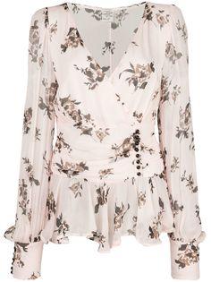 Baum Und Pferdgarten шифоновая блузка с цветочным принтом