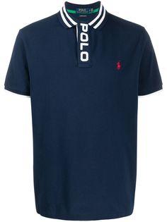Polo Ralph Lauren рубашка-поло с короткими рукавами и логотипом