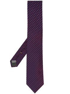 Canali галстук-бабочка с геометричным узором