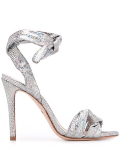 Schutz metallic high heel pumps