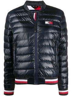 Tommy Hilfiger куртка-пуховик на молнии