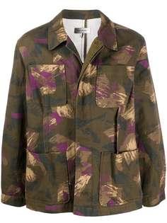 Isabel Marant куртка с камуфляжным принтом