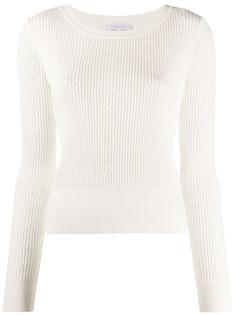 Patrizia Pepe floral knit top