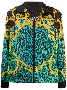 Versace Jeans Couture куртка с принтом Leo Chain
